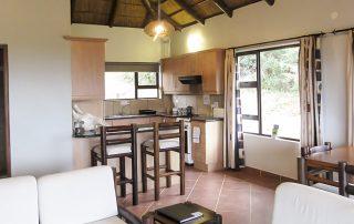 Lodge interior - living area