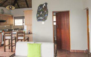Lodge interior - full kitchen